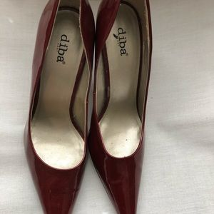 Diba Shoes - Diba Patent Leather Pumps Heels 9.5
